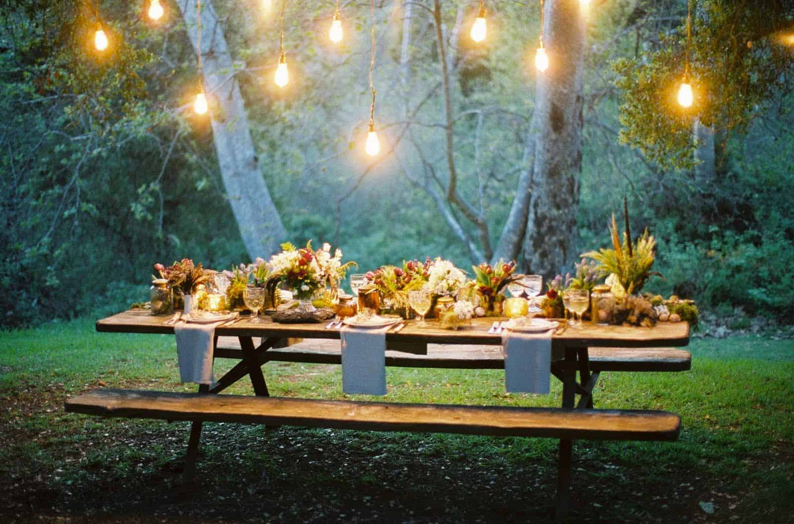 ambiance outdoors Garden Party Ideas To Embrace Summer