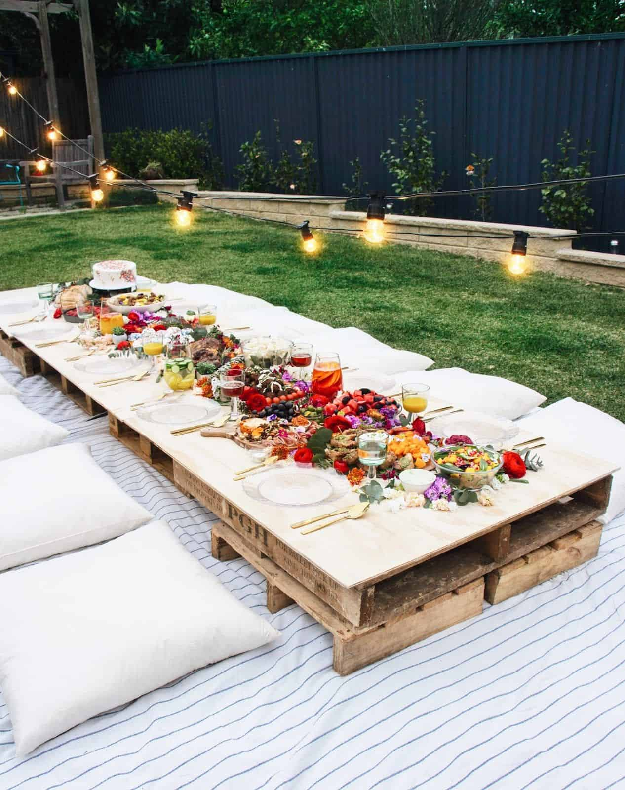Garden Party Ideas To Embrace Summer - Garden-parties-ideas