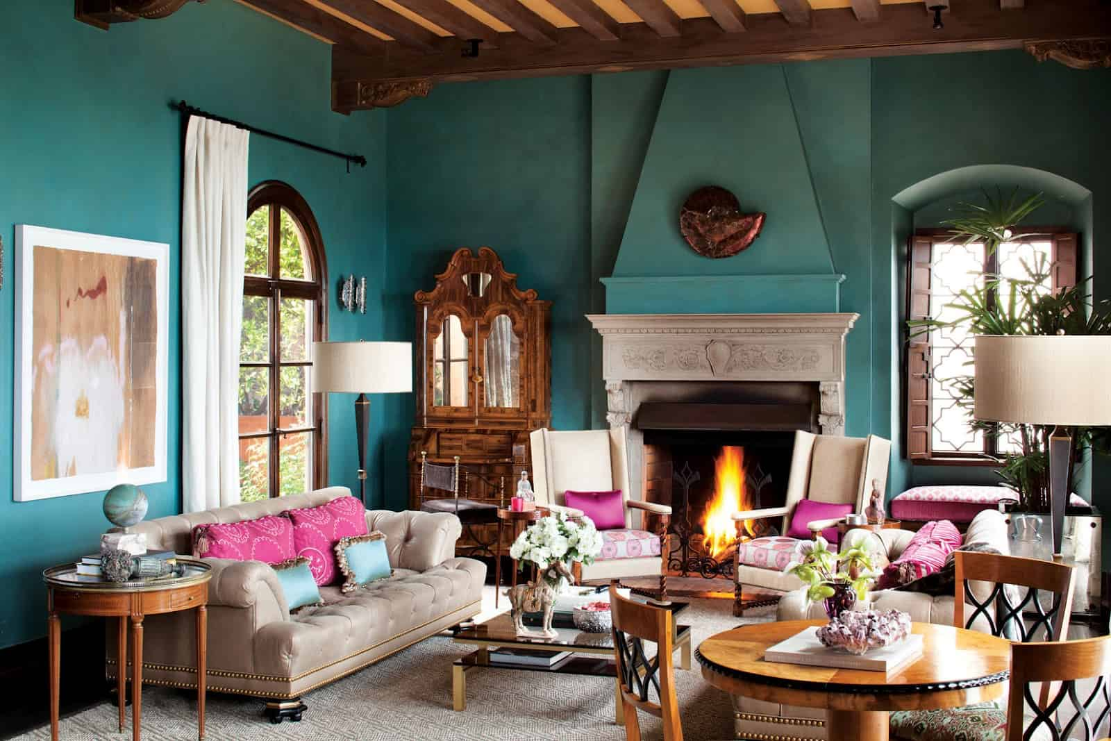 colorful living room 12 Effortless Ways To Make Your Home Picture Perfect