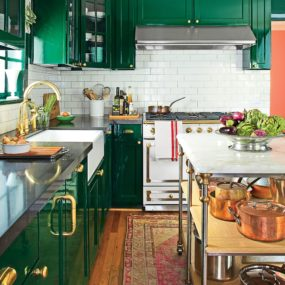Green Kitchens That Will Make You Envious