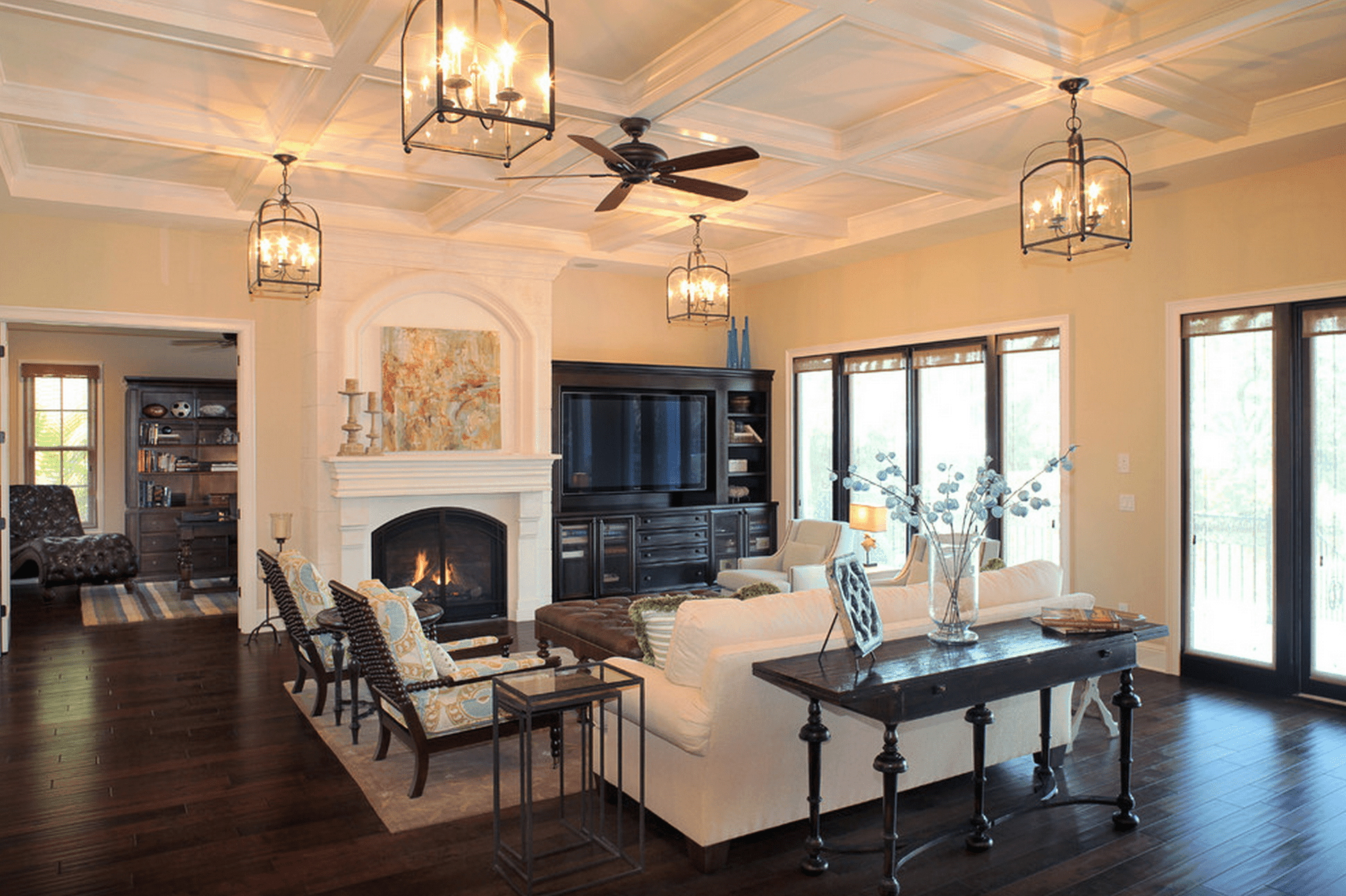 multiple light fixtures in living room Charming Light Fixtures That Work In Every Room