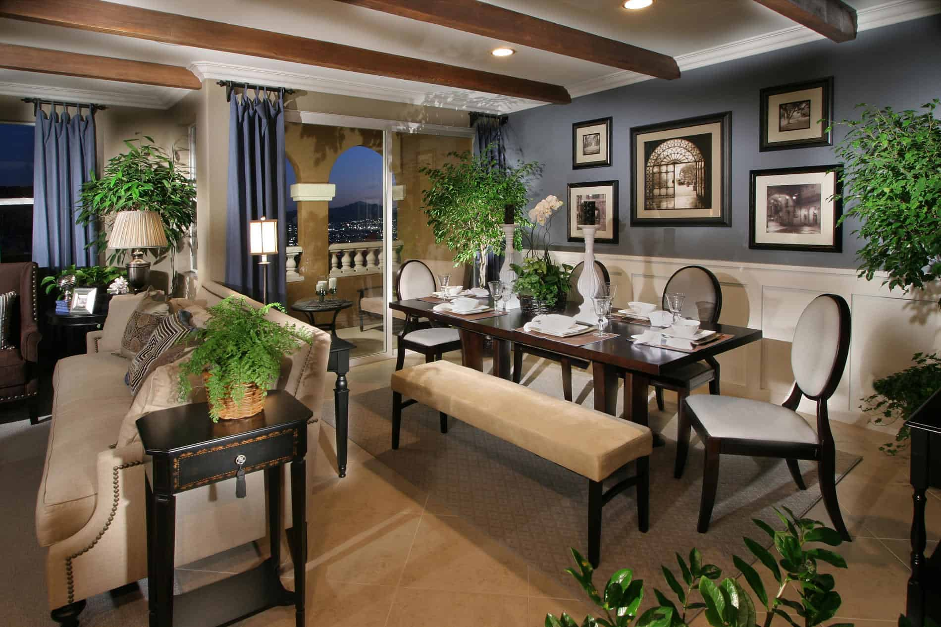 Ways to decorate an open floor plan without overcrowding - Open floor plan decorating ...