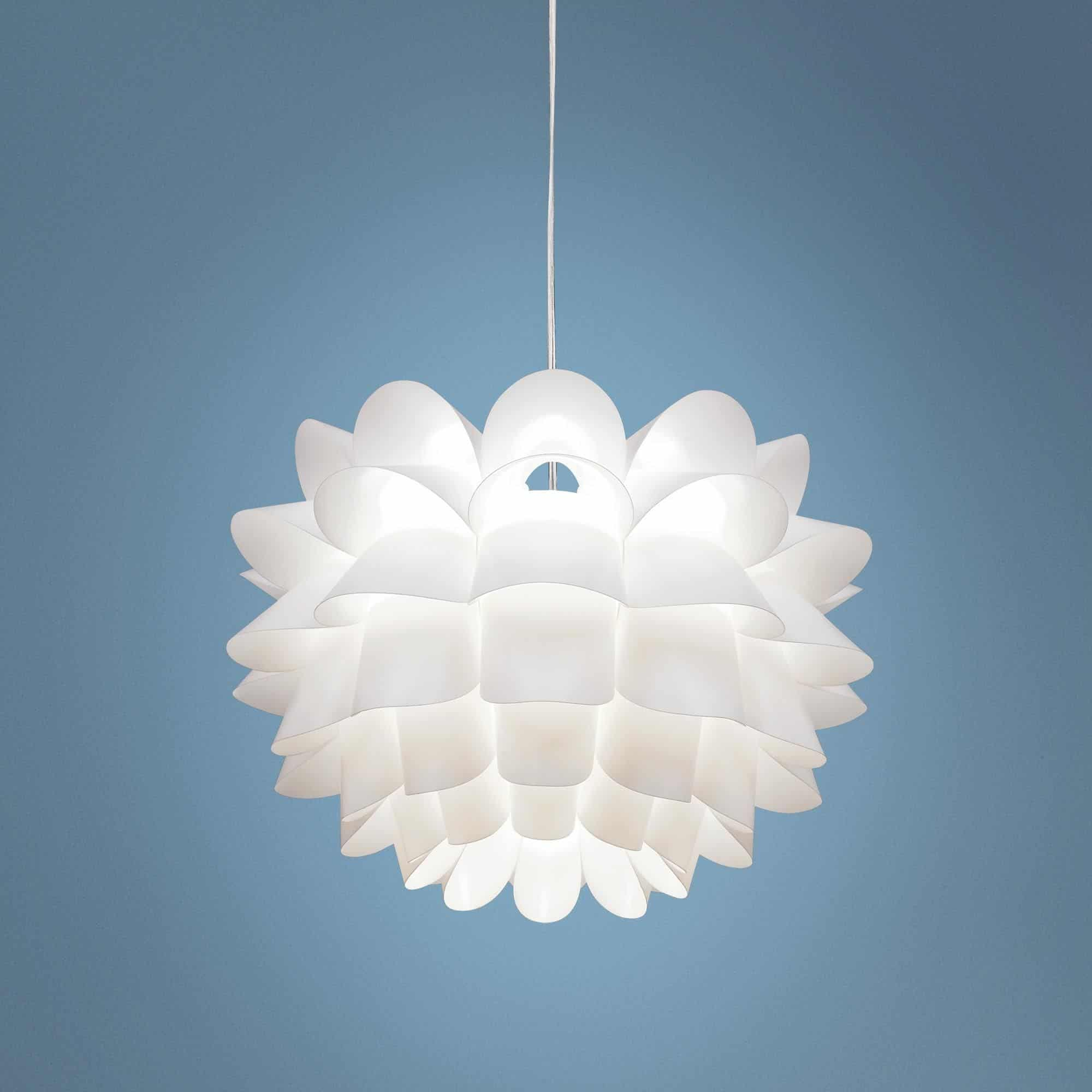 possini euro white flower chandelier