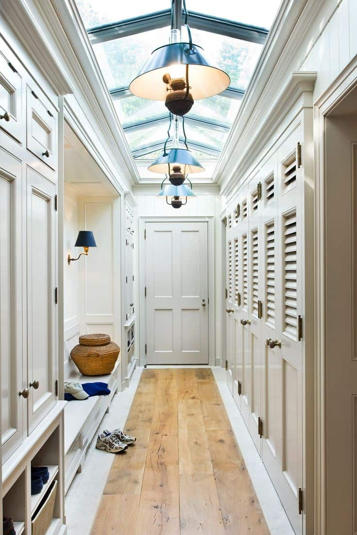storage in mudroom