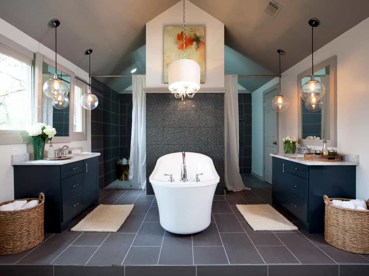symmetrical lighting Design Essentials For A Dreamy Bathroom