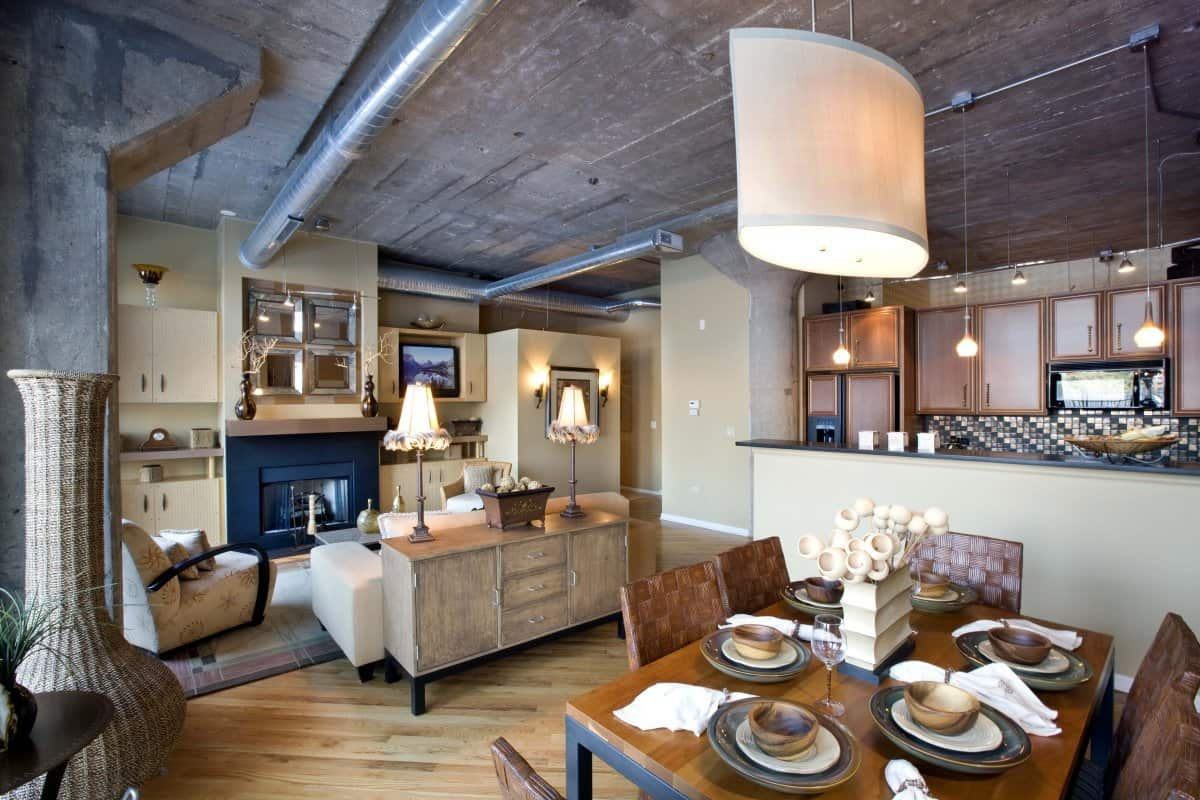 utlize the entire space loft Sophisticated Loft Design Ideas