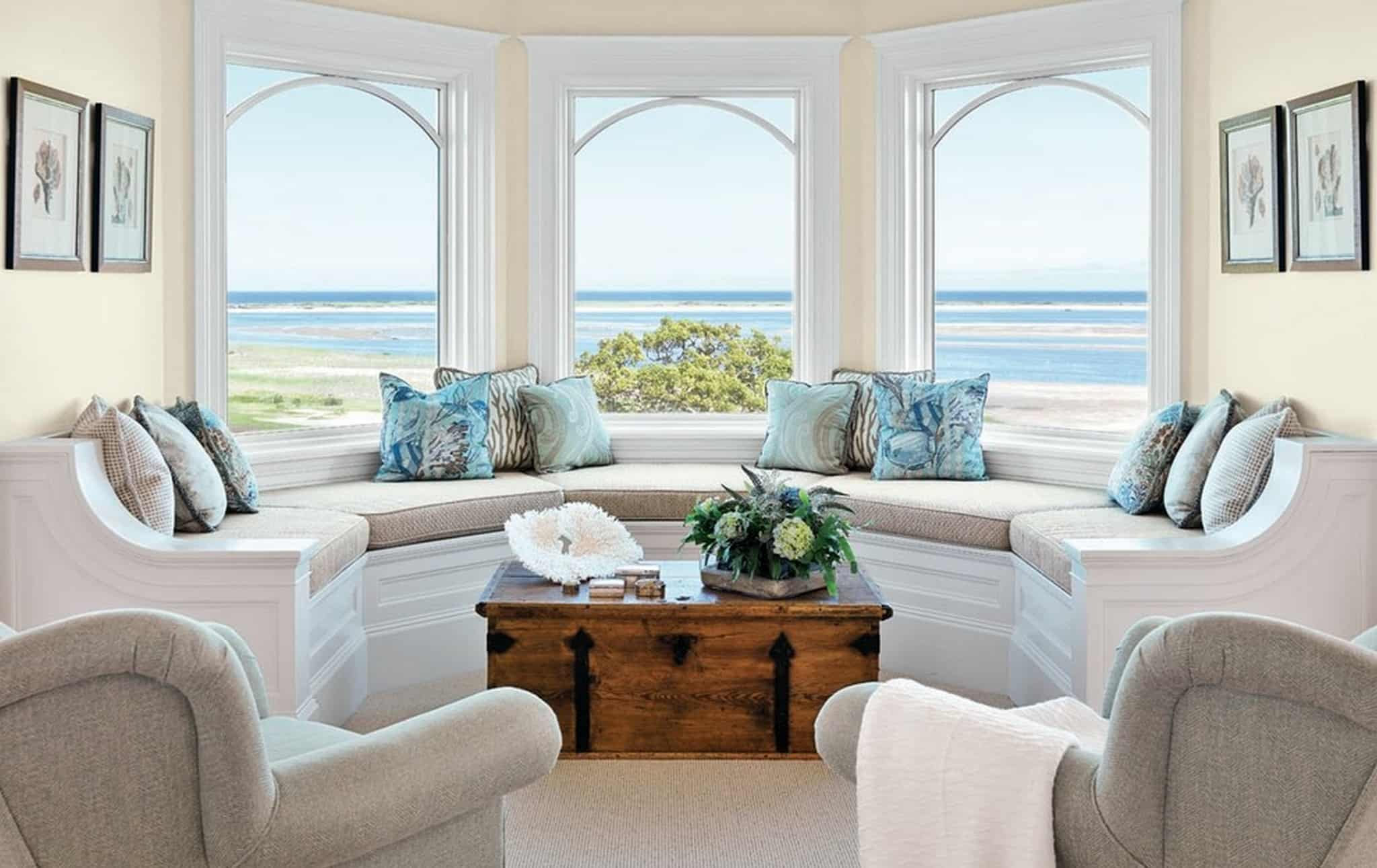 Vacation Home Decorating Ideas Window Nook