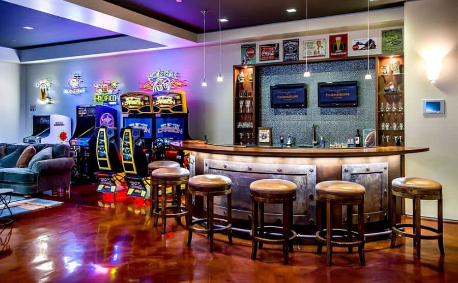 arcade-basement-room-bar