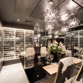 Chic Ways To Design Your Wine Room