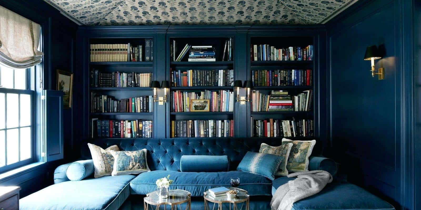 cozy home library 12 Home Libraries With Impeccable Style