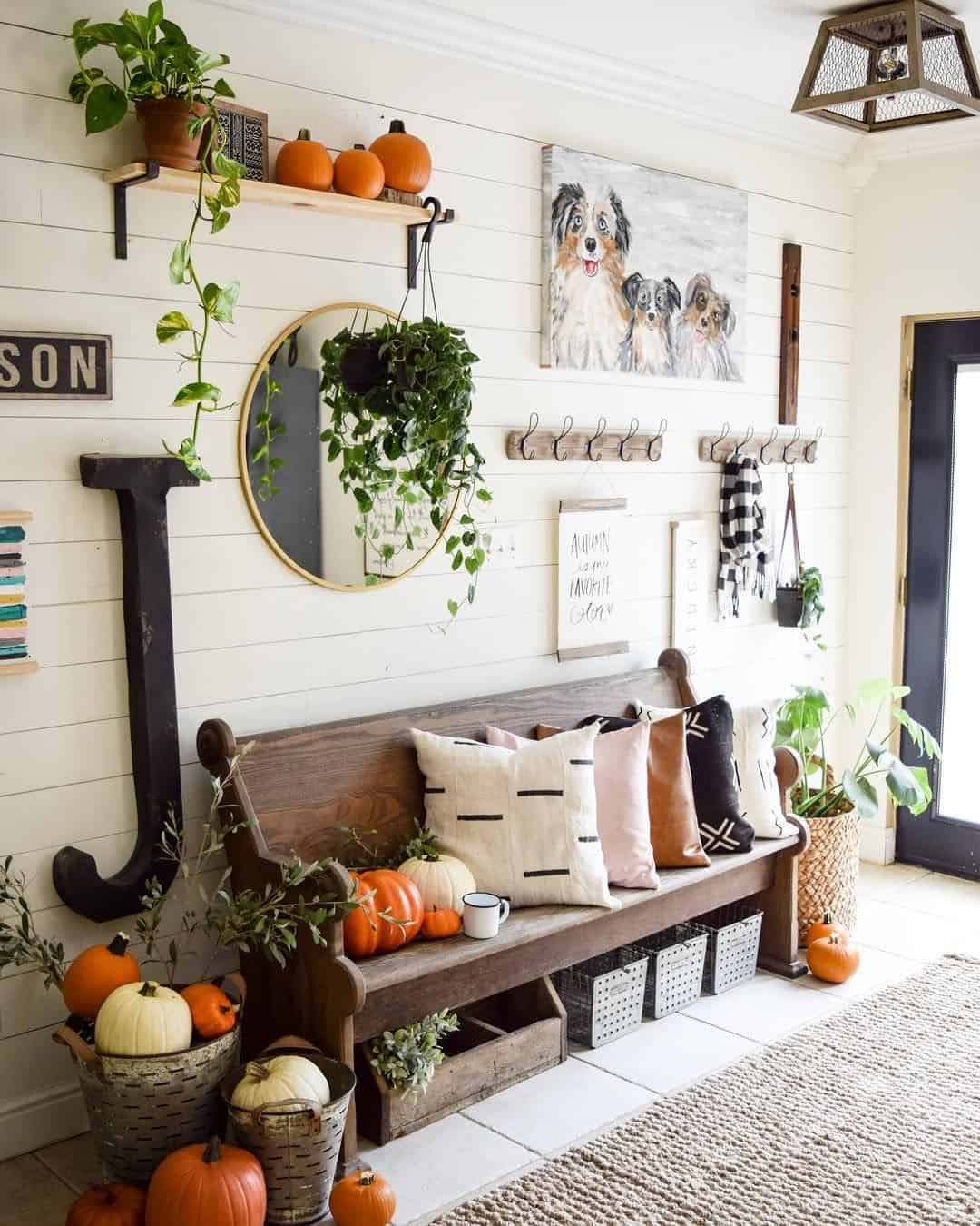 fall handcrafted decor