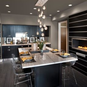 Stylish eat-in kitchens that are all the rage right now