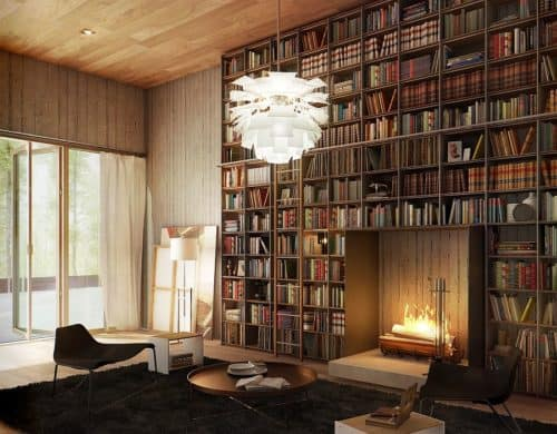 12 Home Libraries With Impeccable Style