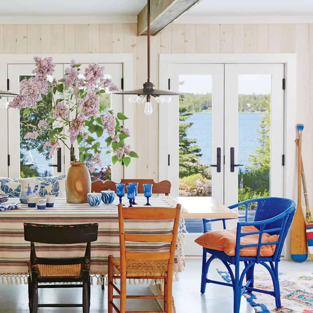 outdoor view in kitchen