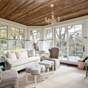 Charming Rooms With All-Wood Ceilings