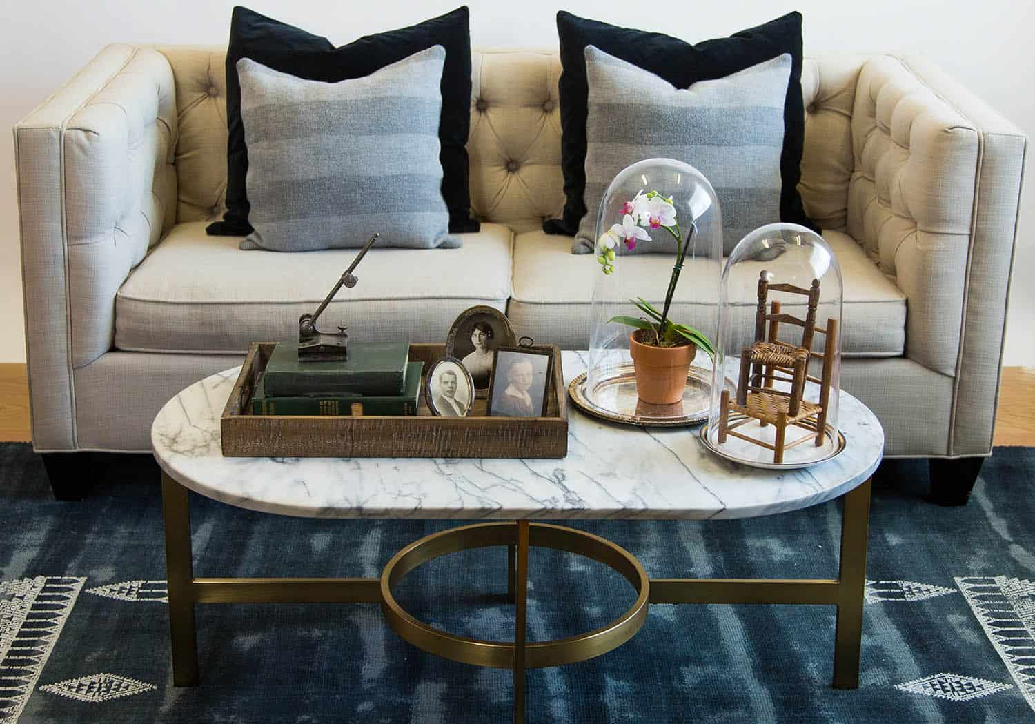 coffee table with sentimental value