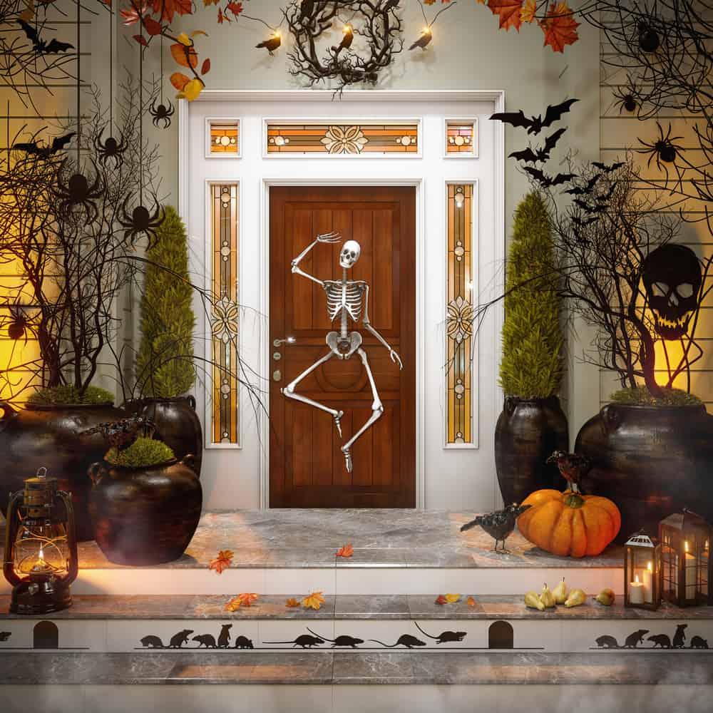 halloween door 1