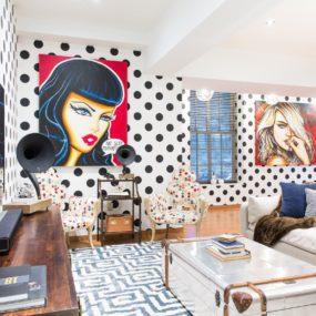 How To Effortlessly Mix Prints In Your Home