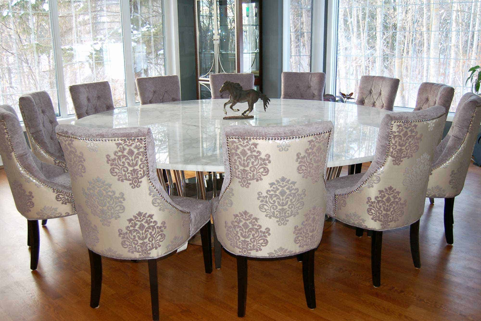6 seater round dining table dimensions Unique Trendy Elegant Dining Room Chairs 22 Best Cute Sets Tables Finest