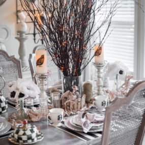 10 Decorating Ideas For A Stunning Halloween Table