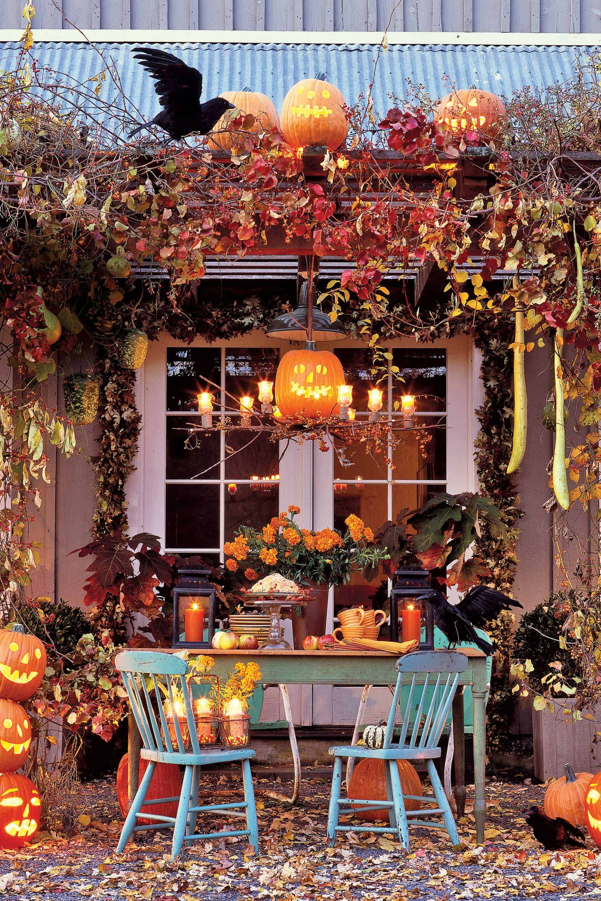 spooky enchantment Unique Ways To Bring A Spooky Twist To Your Front Porch