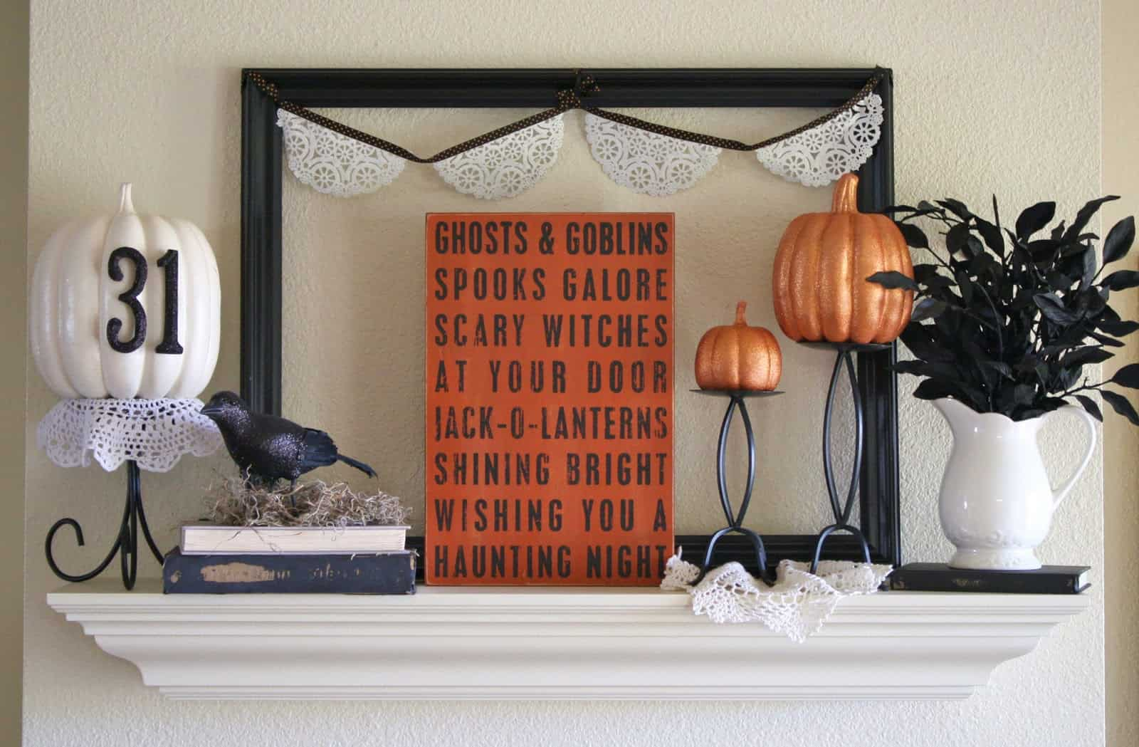wood pumpkin Trendy Halloween Decorations For Spooktacular Style