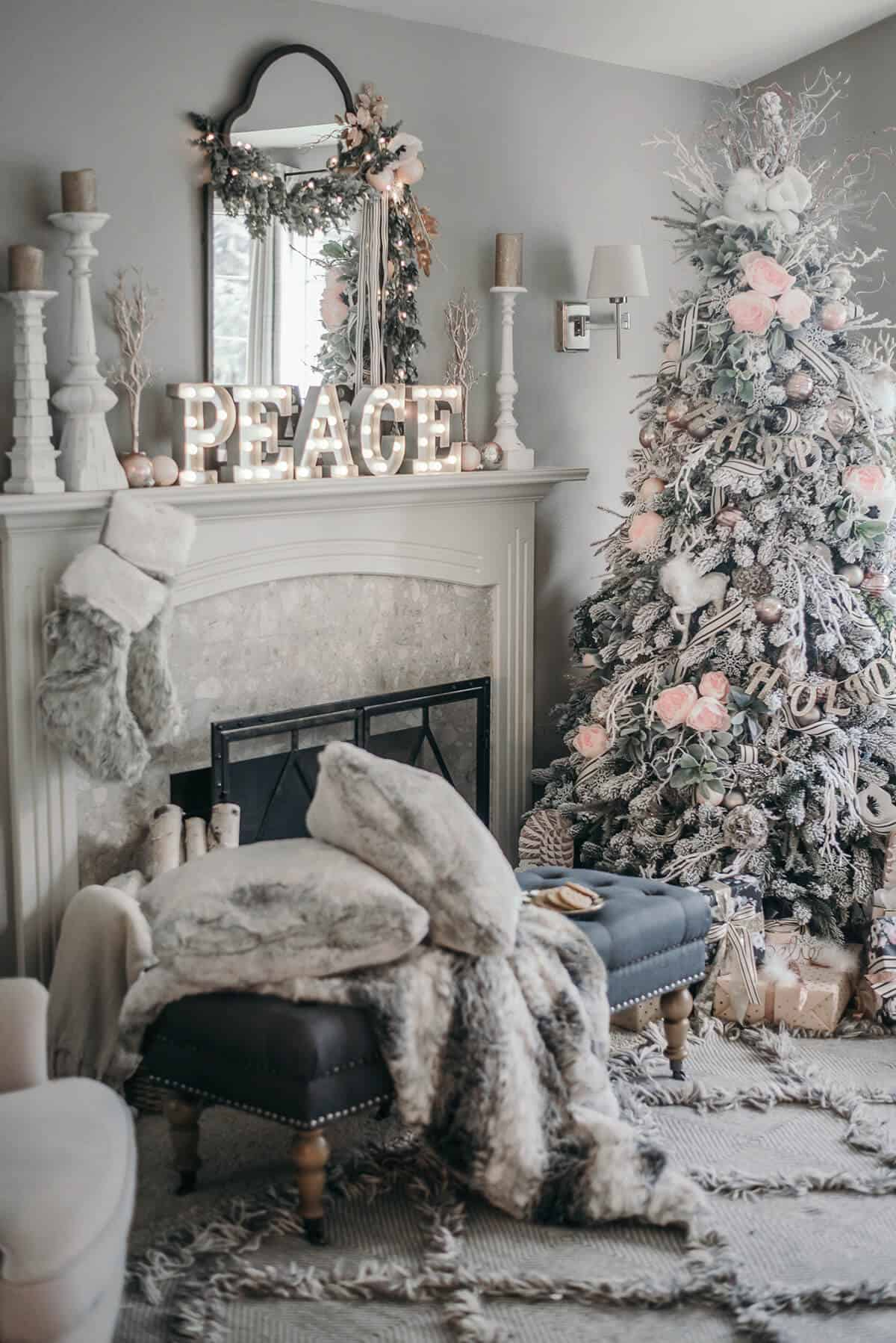 christmas layering Fun and Festive Christmas Decorating Ideas