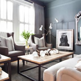 Feminine Living Rooms With A Masculine Touch