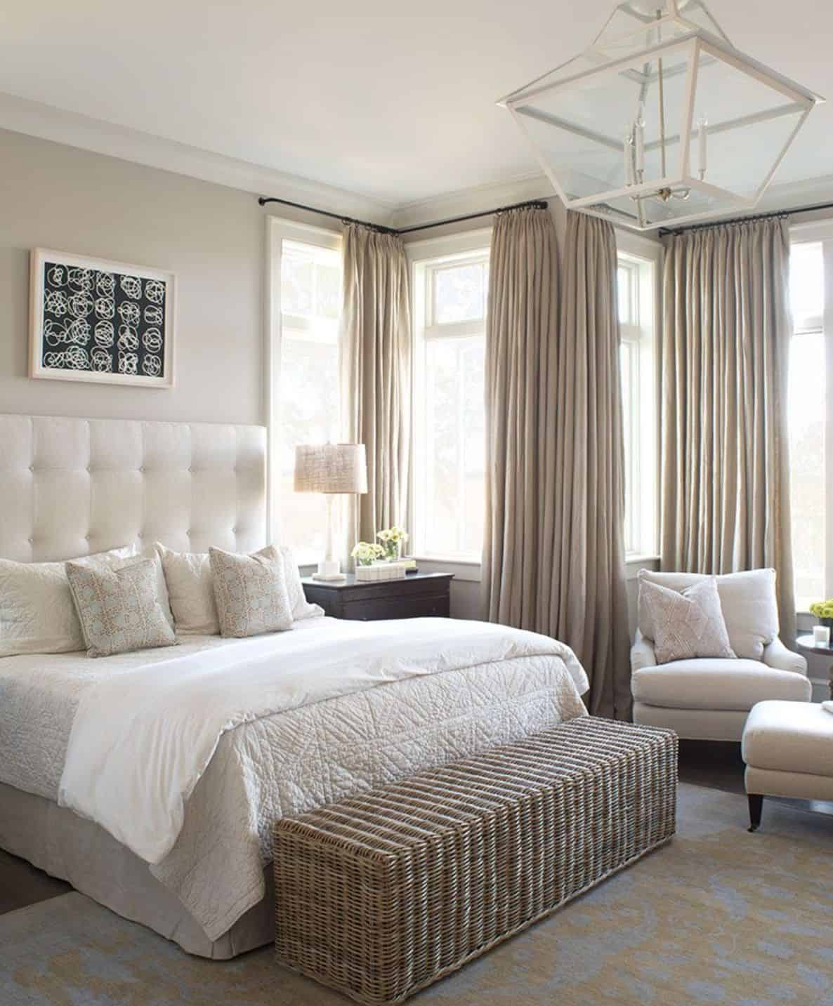 neutral curtains bedroom The Best Curtains To Enhance Your Bedroom