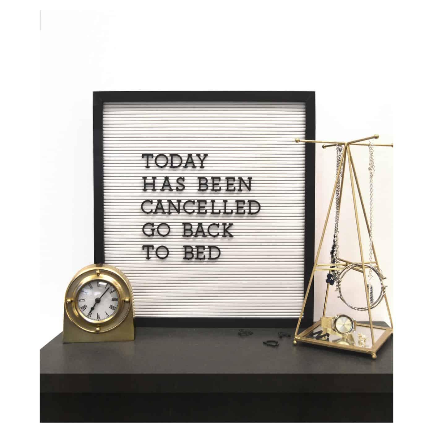 target letter board