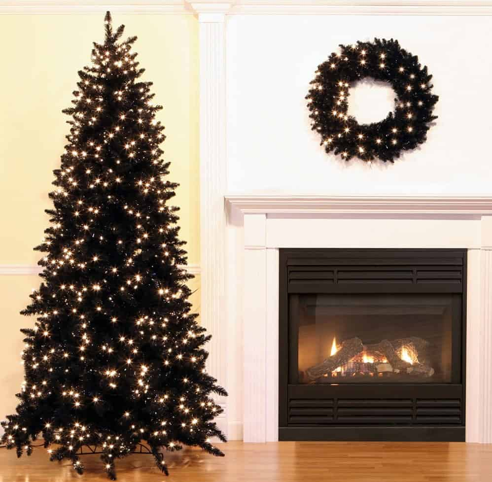 black-christmas-tree