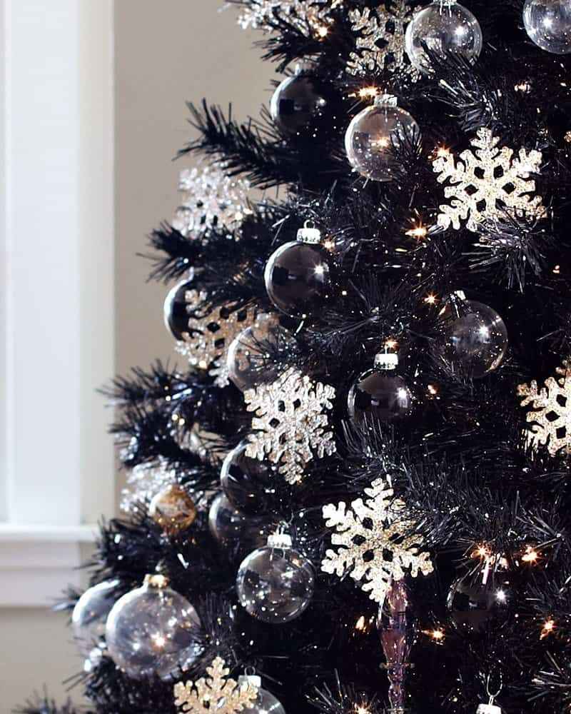 black ornaments