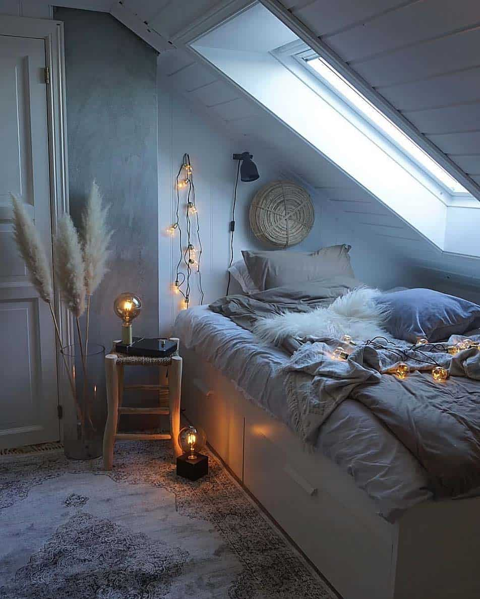 cozy lighting