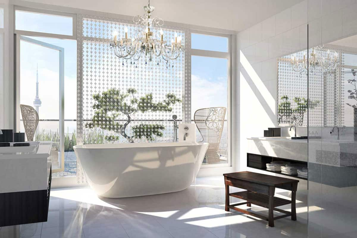 full exposure bathroom Hottest Bathroom Trends for 2019