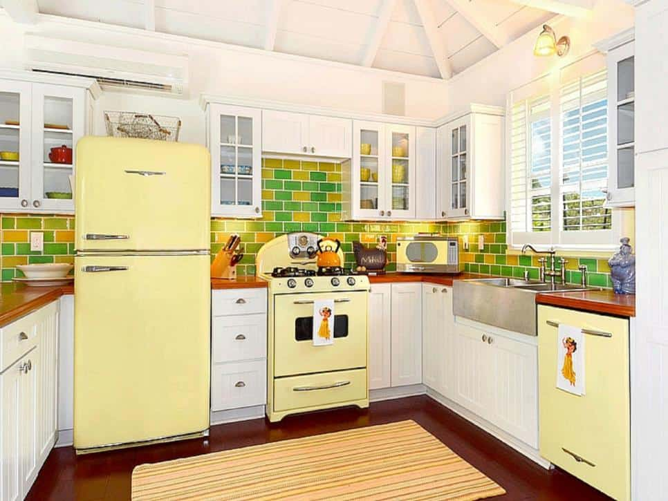 mellow yellow kitchen 3