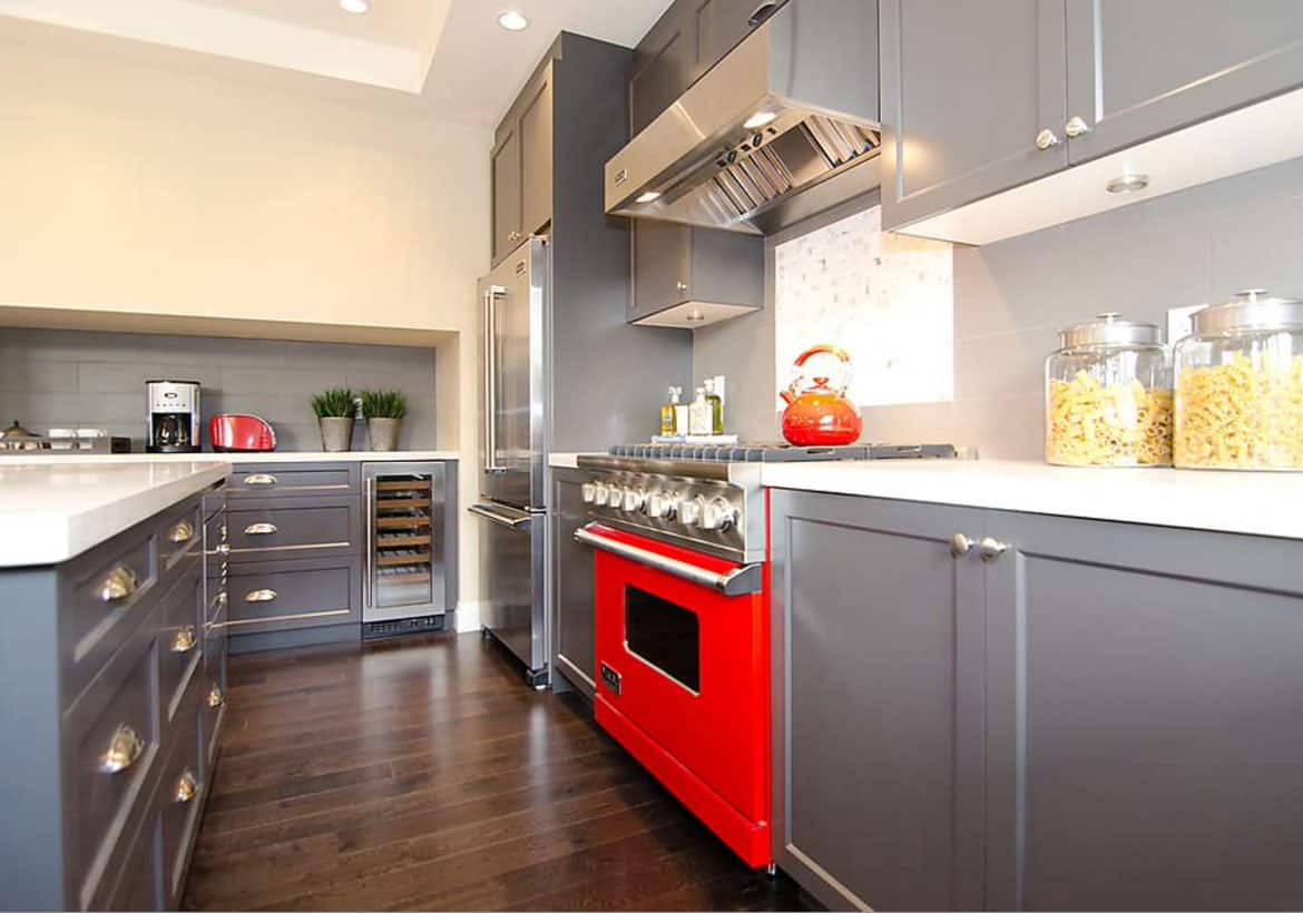 red stove Are You Ready To Incorporate Colorful Appliances?