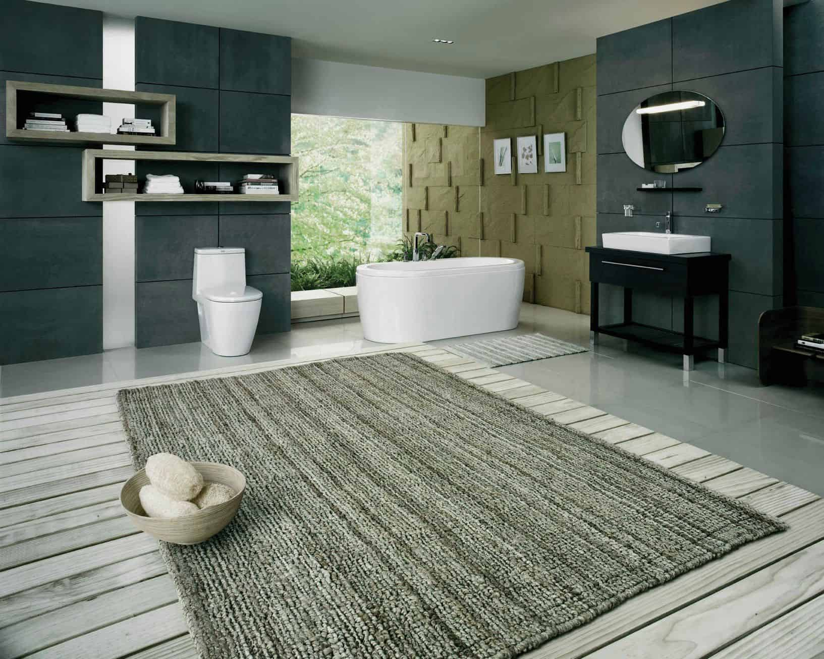 Designer Bathroom Rugs And Mats Within Finest Bathroom Grey Shag Large Bath Rugs For Modern Bathroom Floor Design On Designer Bathroom Rugs And Mats