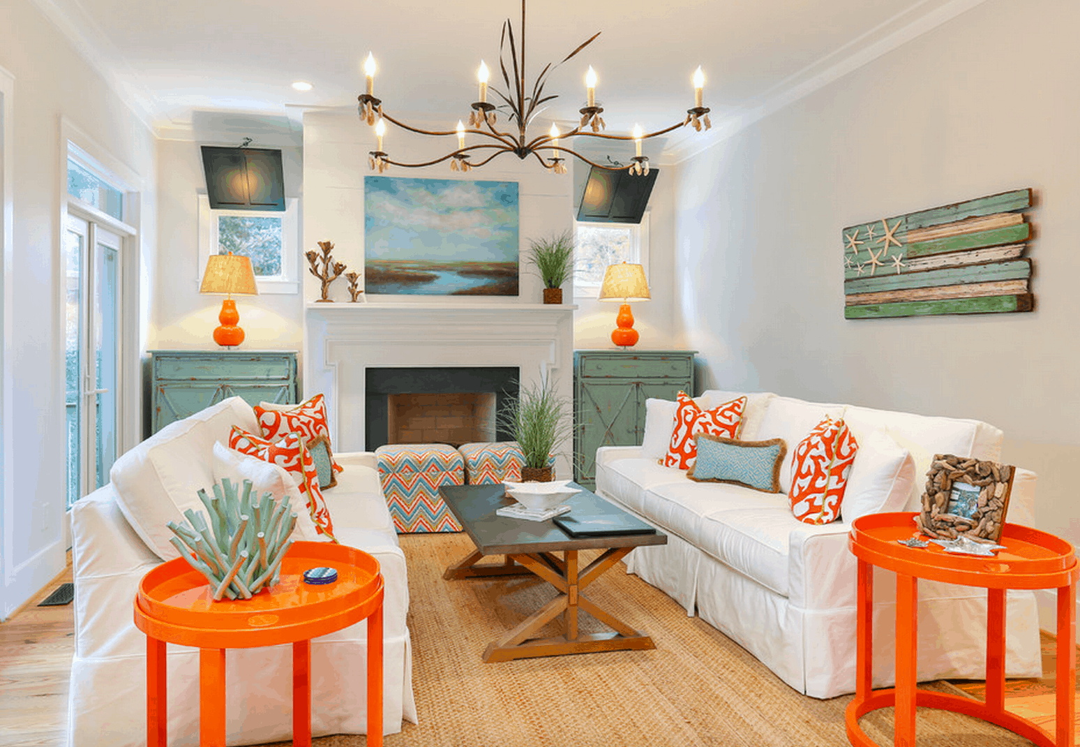 colorful coastal Everything You Need To Know About Coastal Décor
