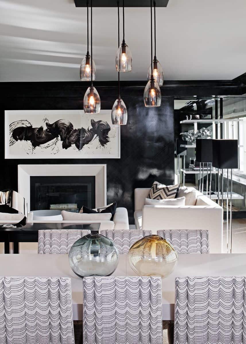 glossy walls