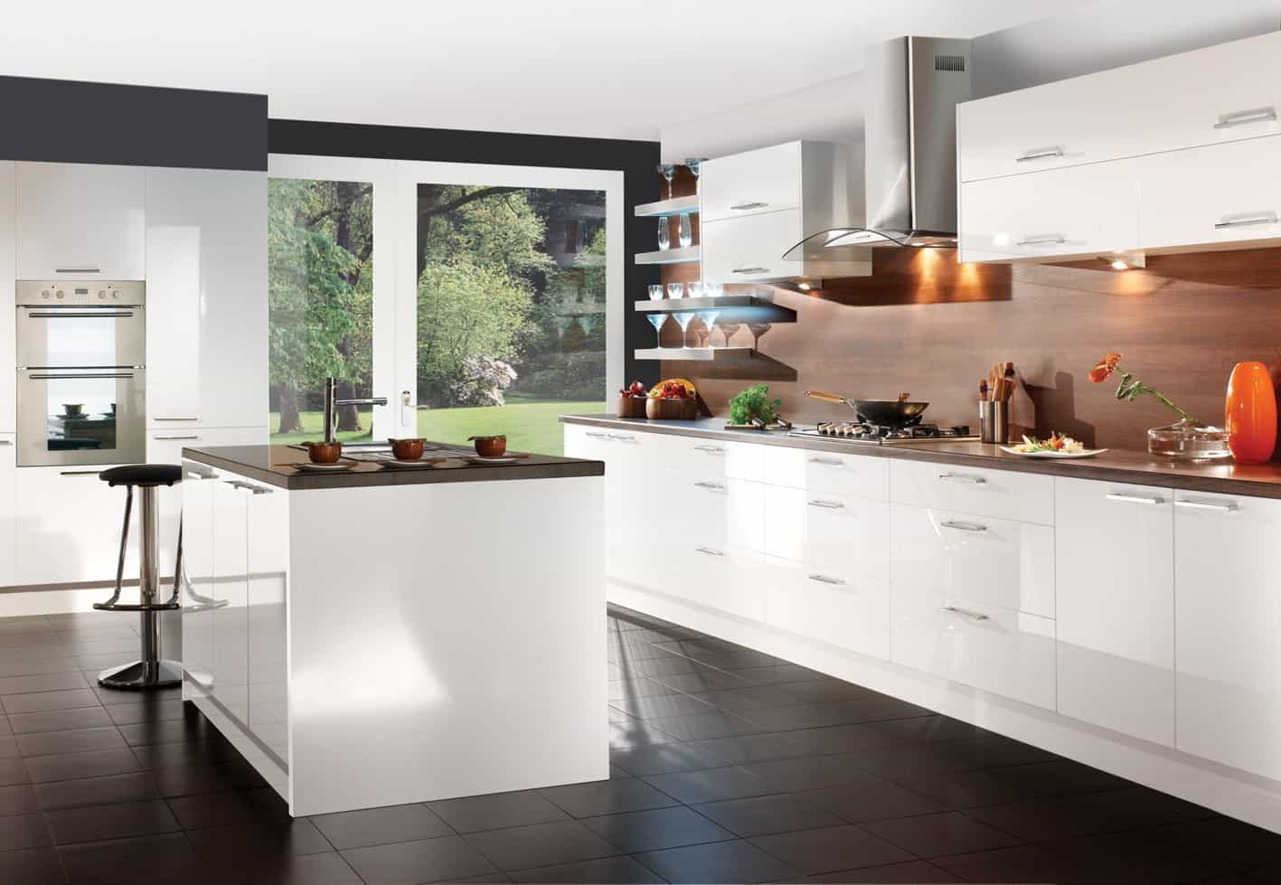high gloss white paint for kitchen cabinets Fresh Ikea Kitchen White Gloss General Finishes Milk Paint Kitchen Cabinets