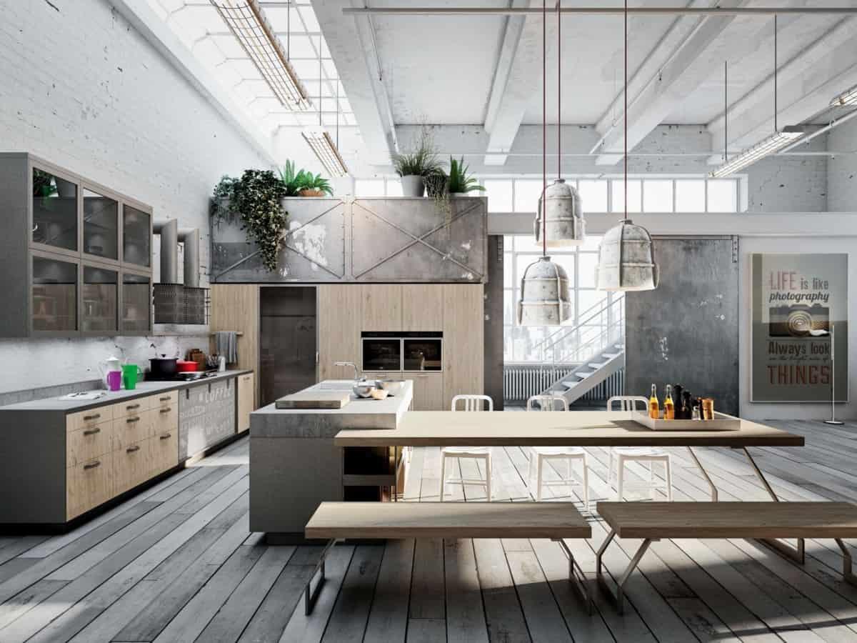 light flooring industrial