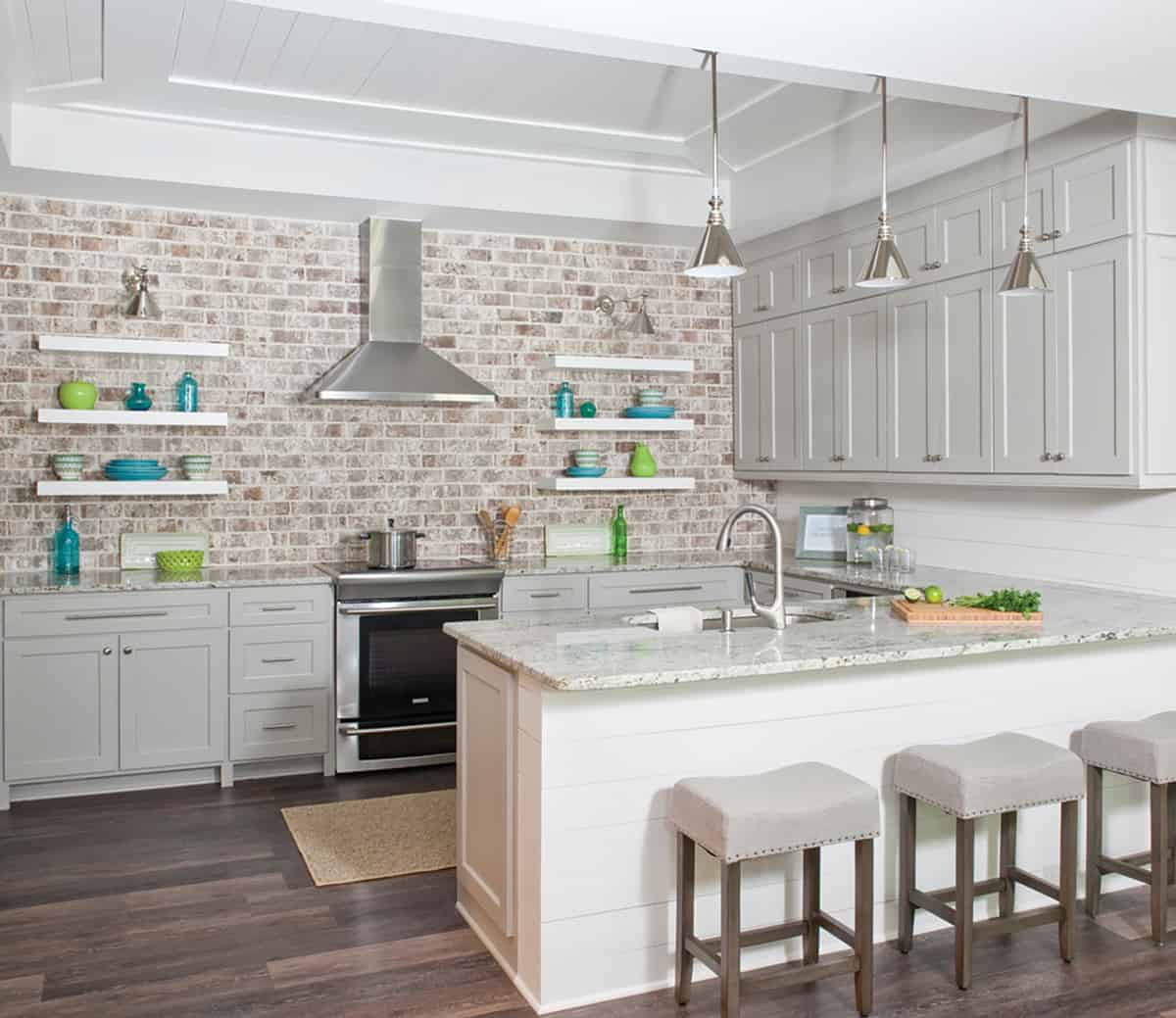 open cabinetry