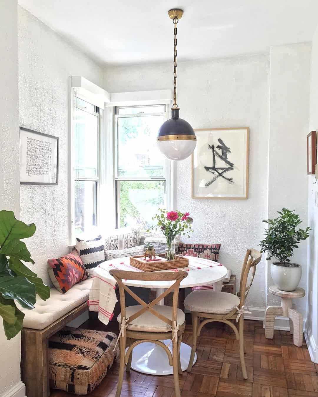 cozy rustic space