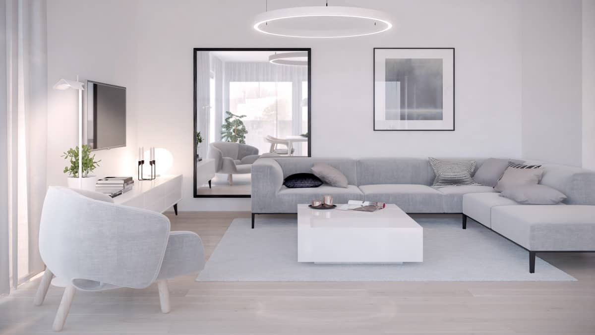 gray minimal living room Sleek Minimal Living Room Decor Ideas That Scream Elegance