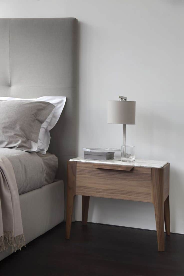 keep it small bedside table