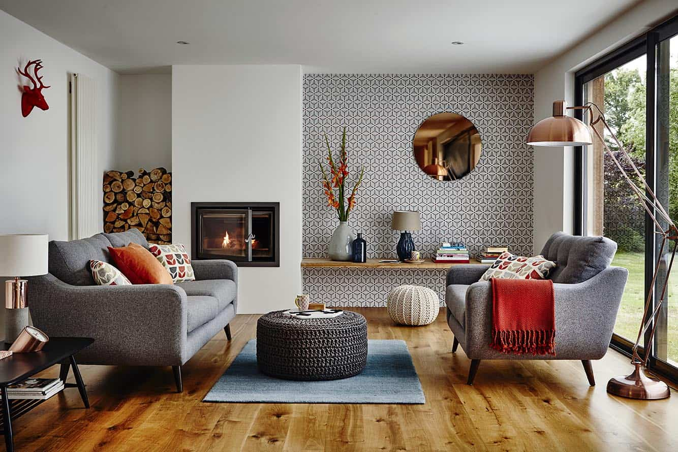. Timeless Living Rooms That Scream Modern