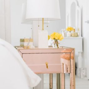 Bedside Tables That Add Just The Right Amount Of Chic