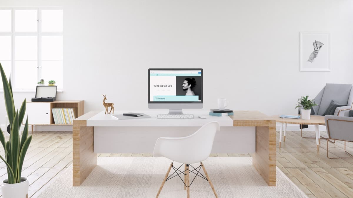 minimal home office 2 Time To Work On Your Home Office