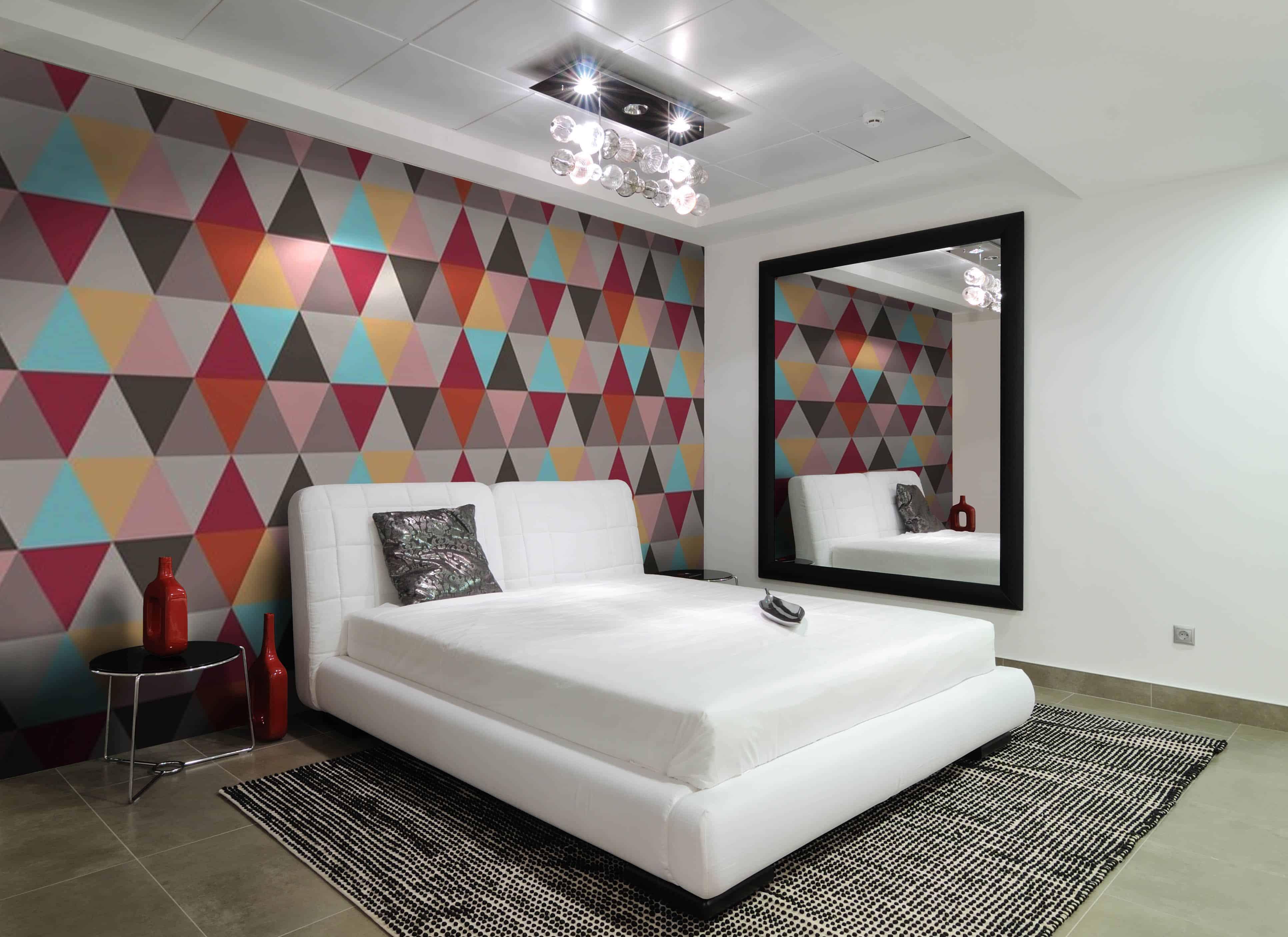 contemporary colorful wallpaper