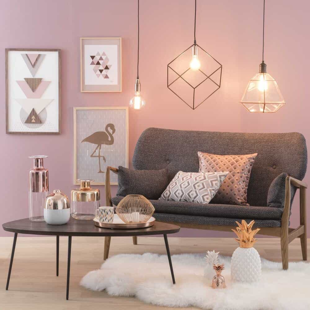 dusty rose Interior Design Spring Trends Are Here!